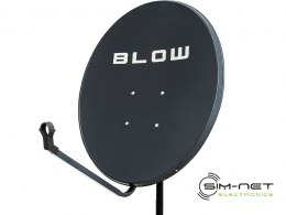 Antena satelitarna BLOW 80 cm grafit