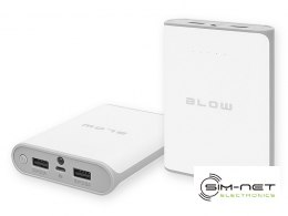 Power Bank 14000mAh 2xUSB PB14 BIAŁY