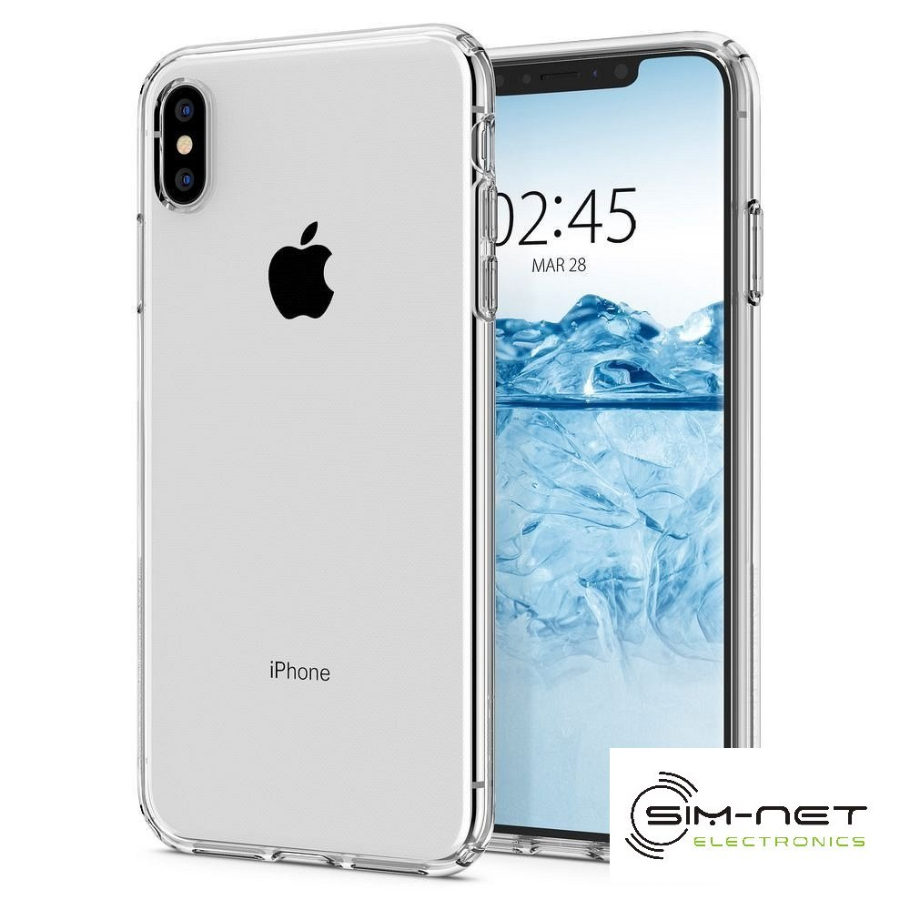 SPIGEN Liquid Crystal do Iphone XS crystal clear