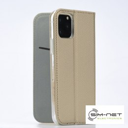 Kabura Smart Case book do HUAWEI P40 Lite E złoty