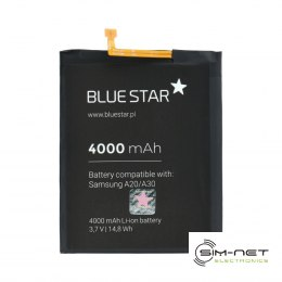 Bateria do Samsung Galaxy A20/A30/A30S/A50 4000 mAh Li-Ion Blue Star PREMIUM