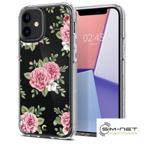 SPIGEN Cyrill Cecile do IPHONE 12 MINI pink floral