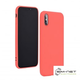 Futerał Forcell SILICONE LITE do IPHONE 12 / 12 PRO różowy