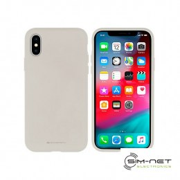 Futerał Mercury Silicone do Iphone 12 PRO MAX szary