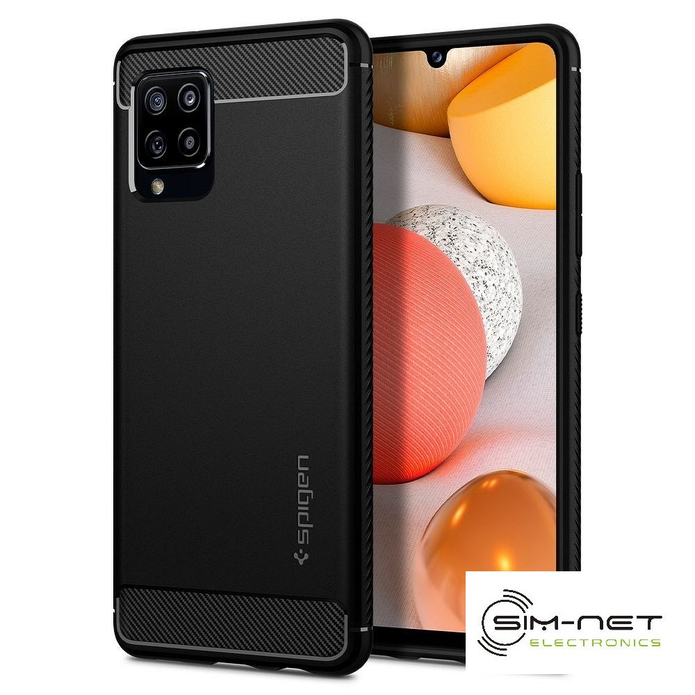 SPIGEN Rugged Armor do SAMSUNG A42 5G matte black