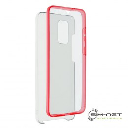 Futerał 360 Full Cover PC + TPU do Samsung S21 PLUS czerwony