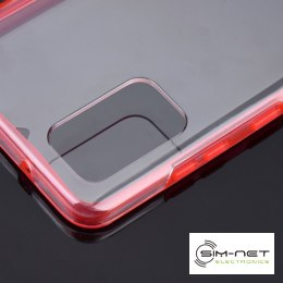 Futerał 360 Full Cover PC + TPU do Samsung S21 czerwony
